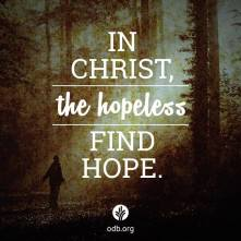in Christ hope