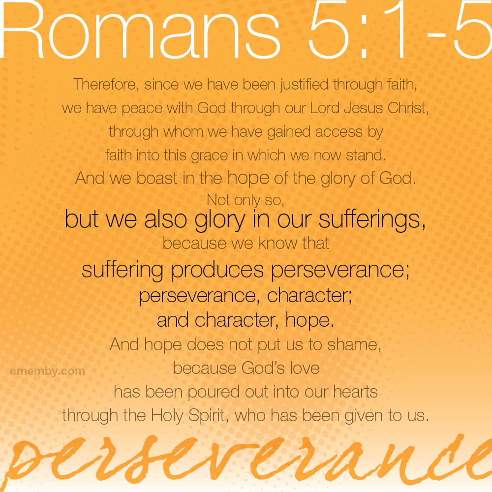 romans 5 1 word study (romans 5:1-2 niv) that little word rejoice is the key to this whole fifth chapter   (if you're a glum-bum, just study the fifth chapter of romans and it will turn you.