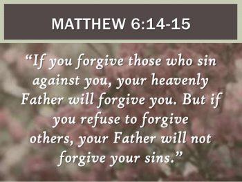 Victory Over Unforgiveness – Seeking Passionate Prayer in ...