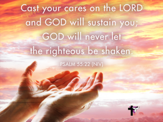 Image result for Image cast your cares on God