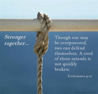 Christian Community We Are Stronger Together Seeking
